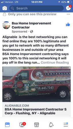 Bsa home Improvement contractor s Corp.