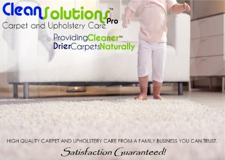 Clean Solutions Pro Carpet And Upholstery Care