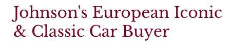 Johnsons European Iconic & Classic Car Buyer - Washington, DC 20003 - (202)873-0899   ShowMeLocal.com