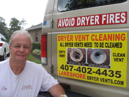Lakeshore Dryer Vents - Debary, FL 32713 - (407)402-4435 | ShowMeLocal.com