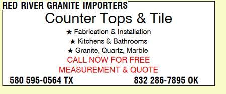 Red River Granite Importers - Oklahoma City, OK 73112 - (580)595-0564 | ShowMeLocal.com