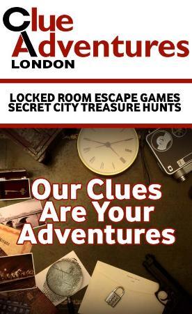 Clue Adventures - Escape Game - London, London E3 4AA - 020 7093 3221   ShowMeLocal.com
