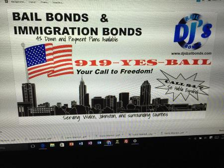DJ's BailBonds Llc - Raleigh, NC 27604 - (919)986-1547 | ShowMeLocal.com