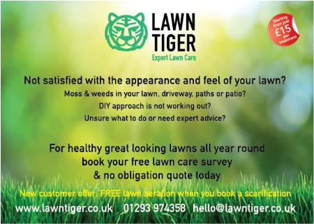 Lawn Tiger - Horley, Surrey RH6 9DT - 01293 974358 | ShowMeLocal.com