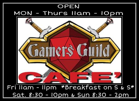 Gamers Guild Café