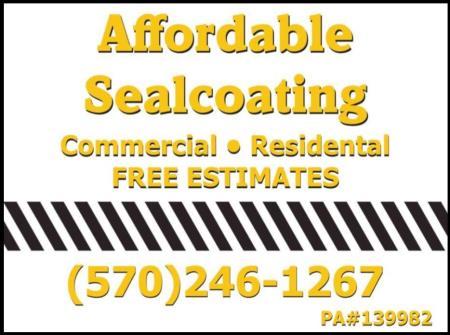 Affordable Sealcoating