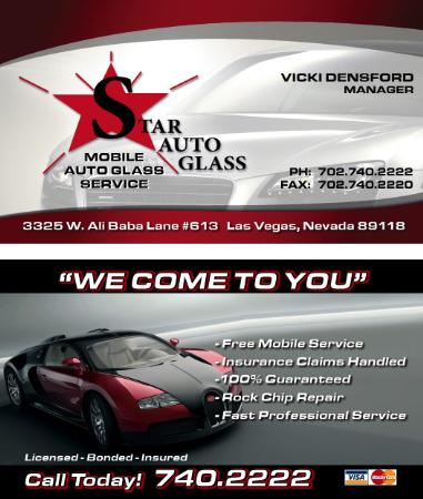 Star Auto Glass Las Vegas Nv 89118 702 740 2222