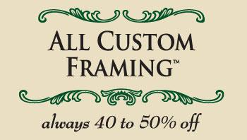 All Custom Framing Always 40-50% OFF - Portland, OR 97204 - (503)895-7527 | ShowMeLocal.com