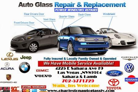 Charleston Auto Glass Power Windows Repairs - Las Vegas, NV 89104 - (702)577-1729 | ShowMeLocal.com