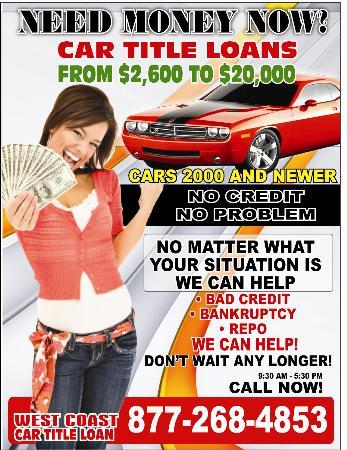 West Coast Car Title Loan Llc Los Angeles Ca 90023 323 266