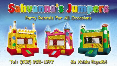 Sahvanna's Jumpers Party Rentals - Ontario, CA 91764 - (909)938-1977 | ShowMeLocal.com