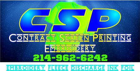 CSP Contract Screen Printing