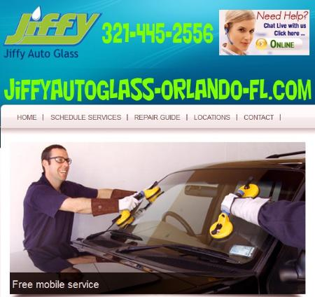 Jiffy Auto Glass Orlando Fl - Orlando, FL 32804 - (321)445-2556 | ShowMeLocal.com