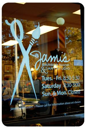 Jami 39 s barber shop art studio jacksonville fl 32207 for Local craft fairs near me