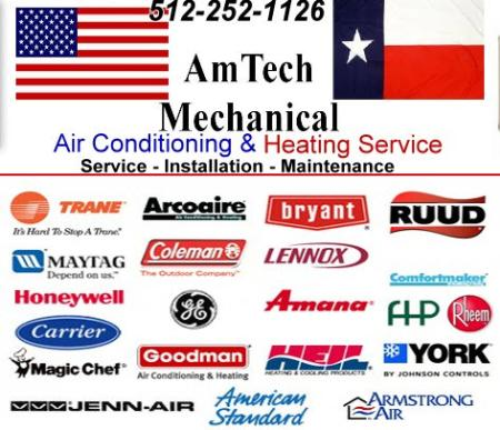 Amtech Mechanical - Georgetown, TX 78633 - (512)255-8668 | ShowMeLocal.com