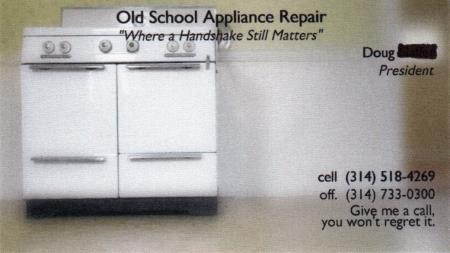 Old School Appliance Repair