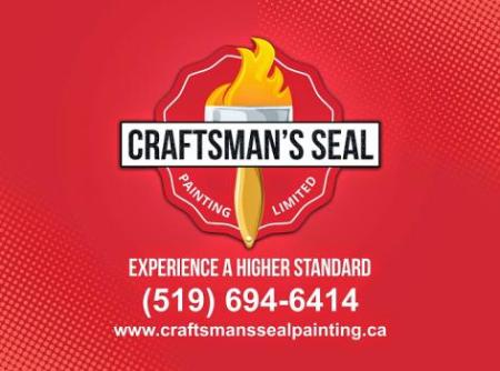 Craftsman's Seal Painting Ltd. - London, ON N6G 4Z3 - (519)694-6414 | ShowMeLocal.com