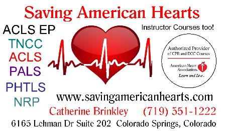Saving American Hearts - Colorado Springs, CO 80918 - (719)551-1222 | ShowMeLocal.com