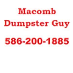 Macomb Dumpster Guy - Macomb, MI 48042 - (586)200-1885 | ShowMeLocal.com