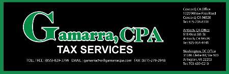 GAMARRA, CPA Inc - Tax Preparation - Concord, CA 94520 - (925)954-4441 | ShowMeLocal.com