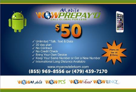 WOW Prepay'd Mobile - Fayetteville, AR 72703 - (479)439-7170   ShowMeLocal.com