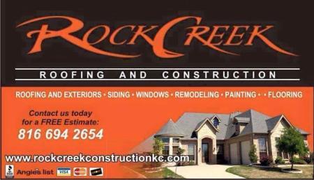 Rock Creek Roofing & Construction LLC - Lees Summit, MO 64086 - (816)694-2654 | ShowMeLocal.com
