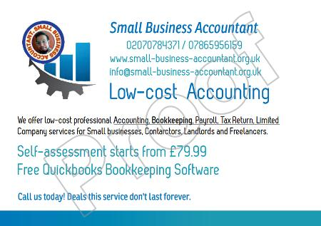Small Business Accountancy Services - Croydon, Surrey CR0 4HG - 020 7078 4371 | ShowMeLocal.com