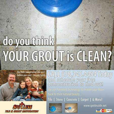 Spotless Tile & Grout Cleaning and Restoration LLC - Monroe, GA 30655 - (678)870-7011 | ShowMeLocal.com