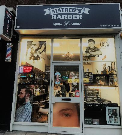 Matreds Barber London 020 7433 1129