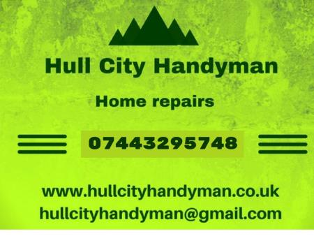 Hull City Handyman - Hull, North Yorkshire HU5 1PA - 07443 295748 | ShowMeLocal.com