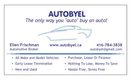 AUTOBYEL - Auto Broker - Toronto, ON M5N 1X4 - (416)784-3838 | ShowMeLocal.com