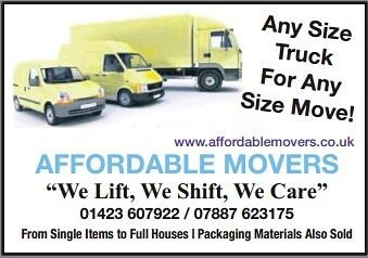 Affordable Movers - Harrogate, North Yorkshire HG1 5DN - 01423 607922 | ShowMeLocal.com