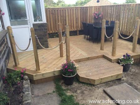 custom decking huddersfield Ac Fencing & Decking Huddersfield 01484 865367