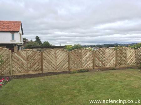 decorative panels fencing huddersfield Ac Fencing & Decking Huddersfield 01484 865367
