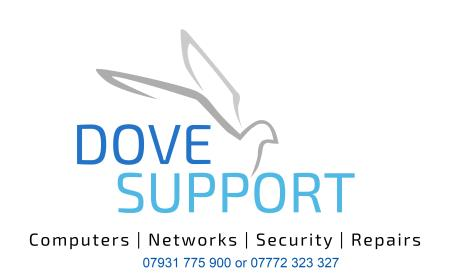 Dove Support - Colchester, Essex CO3 0HH - 07931 775900   ShowMeLocal.com