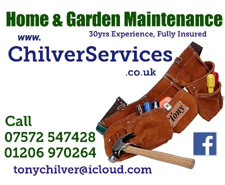 Chilverservices  - Colchester, Essex  - 07572 547428 | ShowMeLocal.com