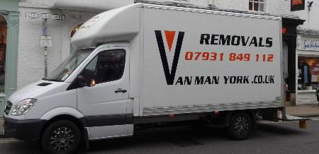 Van Man York Removals - York, North Yorkshire YO26 5SY - 07931 849112 | ShowMeLocal.com