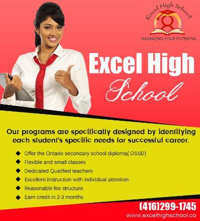 Excel High School - Scarborough, Toronto, ON M1S 3L1 - (416)299-1745 | ShowMeLocal.com