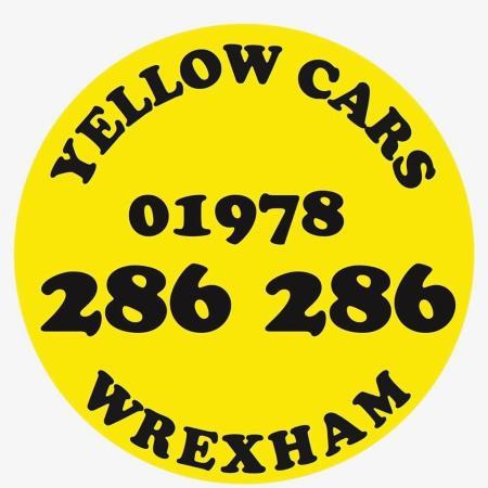 Yellow Cars Wrexham Taxi - Wrexham, Clwyd LL14 4AL - 01978 286286   ShowMeLocal.com