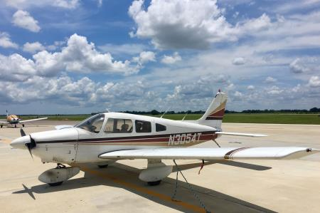 Our Piper Archer II tail number N3054T Third Coast Aviation, LLC Angleton (979)473-9822