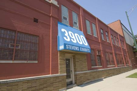 Stevens Office Entrance.... open the door to creativity Stevens Exhibits & Displays Inc Chicago (773)523-3900