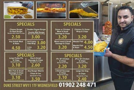 Sukie Fish Bar - Wolverhampton, West Midlands WV11 1TG - 01902 248471   ShowMeLocal.com