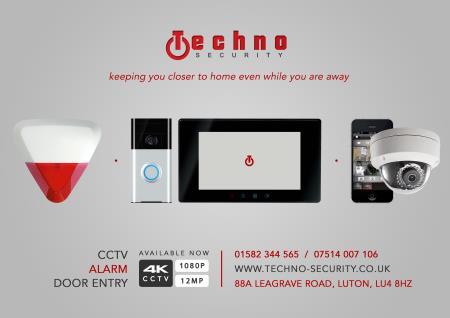 Techno Security - CCTV/Alarm - Luton, Bedfordshire LU4 8HZ - 07514 007106   ShowMeLocal.com