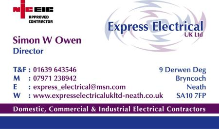 Express Electrical Uk Ltd - Neath, West Glamorgan SA10 7FP - 01639 643546 | ShowMeLocal.com