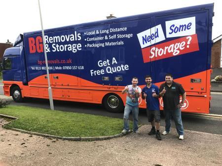 BG Removals & Storage - Nottingham, Nottinghamshire NG7 5LS - 01158 821436   ShowMeLocal.com
