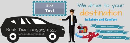 555 Taxi - Walton On Thames, Surrey KT12 3EP - 01932 301555 | ShowMeLocal.com