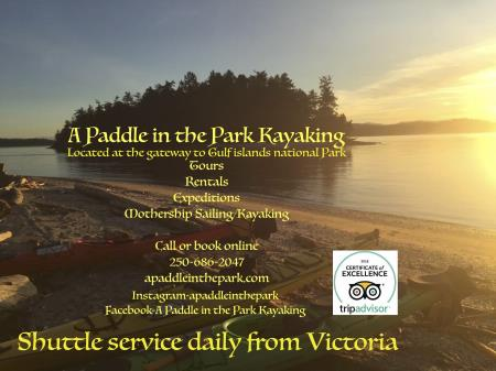 A Paddle in the Park Kayaking - Sidney, BC V8L 5Y7 - (250)686-2047 | ShowMeLocal.com