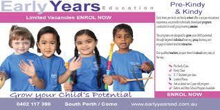 Early Years Education - Como, WA 6152 - 0402 117 398 | ShowMeLocal.com