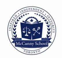 Mccanny Secondary School Toronto (416)491-5555