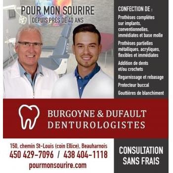 Burgoyne & Dufault Denturologistes - Beauharnois, QC J6N 2H9 - (450)429-7096   ShowMeLocal.com